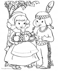 Thanksgiving Coloring Pages | Northern News