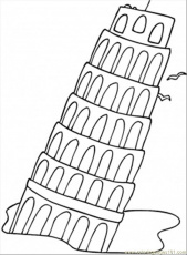 Italy - Coloring Pages for Kids and for Adults