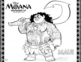 Coloring pages ideas : Outstanding Baby Moana Coloringe Printable ...