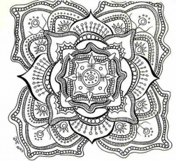 Mandala Coloring Pages Printable - Whataboutmimi.com