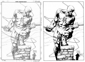 marvel daredevil coloring pages - Google Search | You Didn't See ...