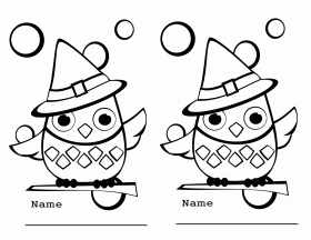 big eyed owl. click the cartoon owl coloring pages. barn owl ...
