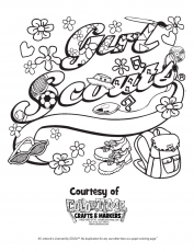 Coloring Pages: Free Coloring Pages Of Girl Scout Coloring Pages ...