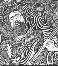 Grateful Dead Coloring Pages Grateful Dead Colorong Pages