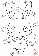 Kawaii Coloring Pages - Coloring Labs