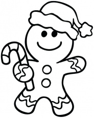 Christmas Cookie Coloring Pages at GetDrawings | Free download