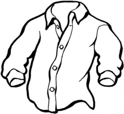 Manly Shirt coloring page | Free Printable Coloring Pages