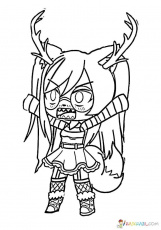 gacha life coloring pages download and print gacha life coloring pages  coloring home