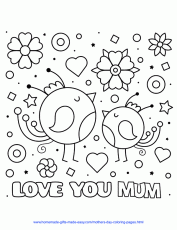 57 Best Mother's Day Coloring Pages - Free Printables