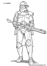 Print star wars clone troopers Coloring pages