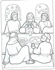 New Testament Coloring Pages | LAST SUPPER-ÚLTIMA CEIA-BIBLEKIDS ...