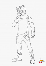 Best Coloring Pages: Coloring Fortnite Omega Drift Colouring ...