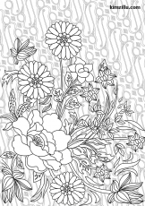 Adult coloring pages – KimZ