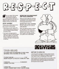 Respect Others Colouring Pages And Page 3