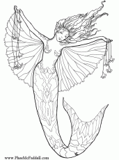 pictures of mermaids and fairies