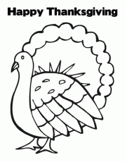 Coloring Pages For Thanksgiving Printable