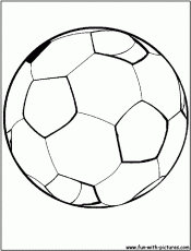 29 Soccer Ball Coloring Pages Free Coloring Page Site 246817