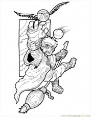 Coloring Pages Harry Potter Small (Cartoons > Harry Potter) - free