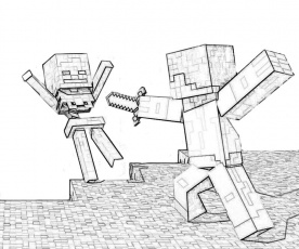 minecraft-coloring-pages-for-kids (9) | Coloring Pages For Kids