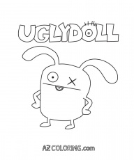 coloring pages of ugly dolls | Ugly Doll Coloring Page - Coloring Home