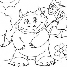 Where The Wild Things Are Coloring Pages Coloring Pages