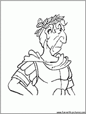 Julius Caesar Colouring Page - High Quality Coloring Pages