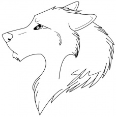 Beautiful Wolf Girl Coloring Pages - Coloring Pages For All Ages