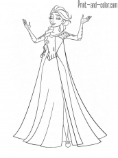 Kitchen Cabinet : Elsa Frozen Coloring Page Anna And Elsa Frozen Coloring  Page Printable' Voice Of Prince Hans Frozen' Queen Elsa Frozen Coloring Page  also Kitchen Cabinets