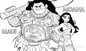 You'll Love These Printable Moana Coloring Pages - D23
