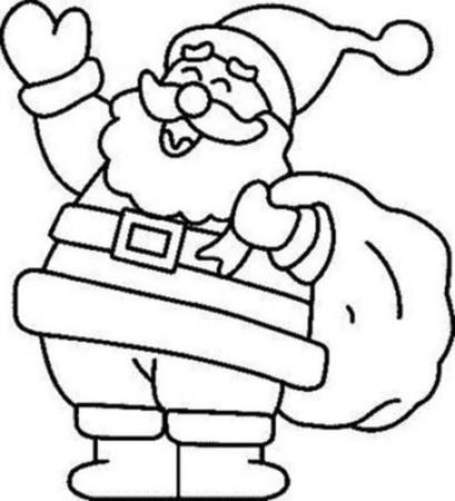 Dibujos De Santa Claus Papá Noel Para Colorear En Navidad