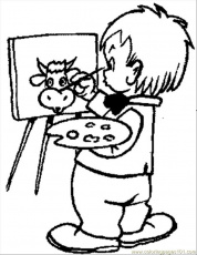 Coloring Pages Kids Coloring Pages 105 (Other > Painting) - free