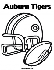 auburn coloring pages