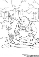 Elvenpath Coloring Pages | Shrek