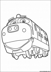 chuggington Colouring Pages (page 2)