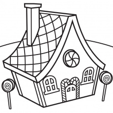 House Coloring Pages and Book | UniqueColoringPages