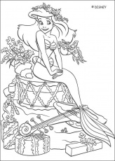 The Little Mermaid coloring pages - The Little Mermaid