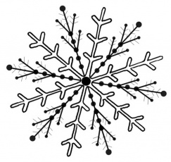 snowflake print | Coloring Picture HD For Kids | Fransus.com736