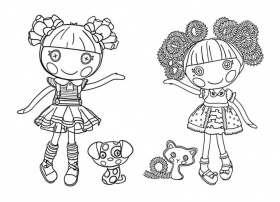 Lalaloopsy Coloring Pages Colouring 15 Free Printable 80757