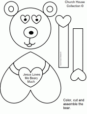 even monkey says jesus loves me coloring page. jesus loves me ...