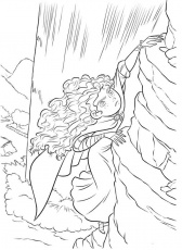 Free Online Brave Coloring Pages - Coloring Page