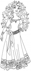 11 Pics of Brave Coloring Pages Printable - Disney Princess Merida ...
