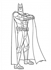 Educational Batman Dark Knight Coloring Pages - Coloring Pages