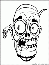 11 Pics of Scary Halloween Coloring Pages Zombies - Scary Zombie ...