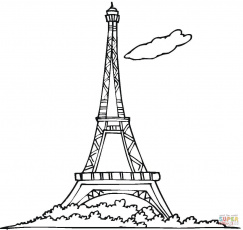 Tower of Babel coloring page | Free Printable Coloring Pages