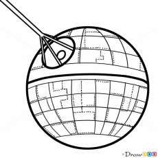 millennium falcon drawing - Google Search | Death star, Falcon drawing,  Stars