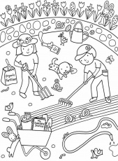 Garden Coloring Pages – coloring.rocks!
