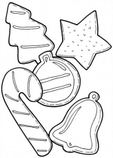 Coloring Pages Of Christmas Cookies at GetDrawings | Free download