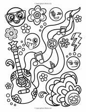 Amazon.com: Emoji Coloring Book for Girls: of Funny Stuff, Inspirational  Quotes & Super Cute Animals, 3… | Emoji coloring pages, Coloring books, Love  coloring pages