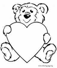 Teddy Bear Coloring Page regarding Your own home - Cool Coloring ...