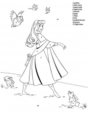 Color By Number Disney - Free Download | Coloring Pages | Coloring
